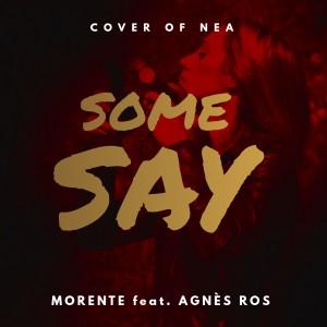 SOME SAY - Morente feat. Agnès Ros CD Cover - FINAL