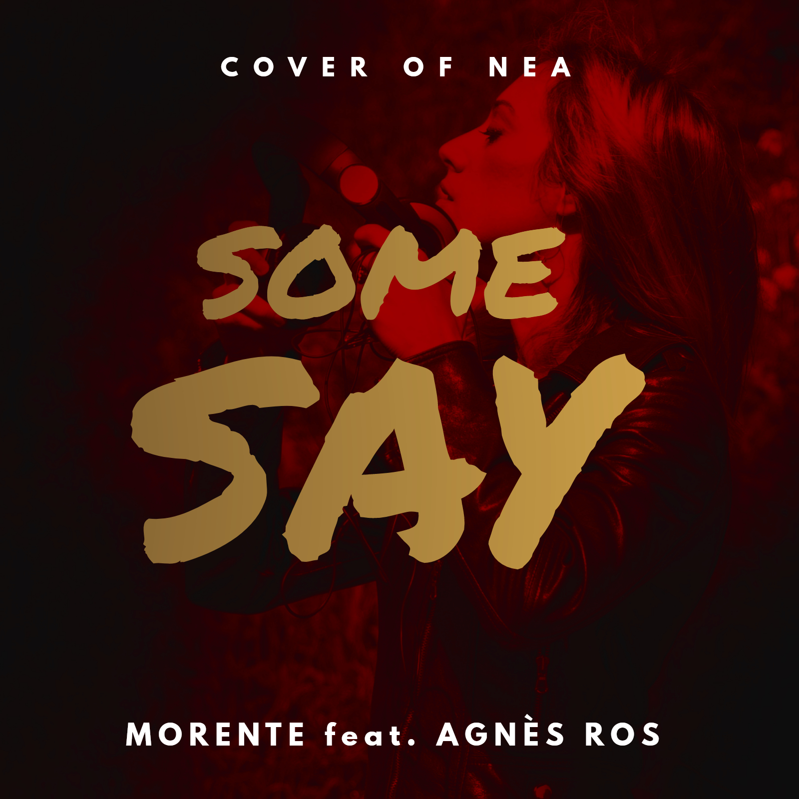 SOME SAY - Morente feat. Agnès Ros CD Cover - FINAL